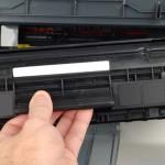 Как правильно вставить картридж в принтер?