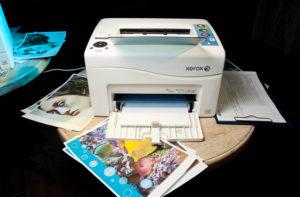 Причины поломки принтера Xerox