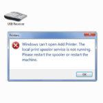 Причины сбоев в программном обеспечении принтеров